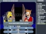 Captura Simpsons Vs. Futurama Quiz