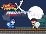 Captura Street Fighter X Mega Man