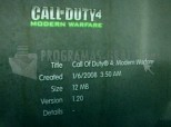 Captura Call of Duty 4: Modern Warfare Patch
